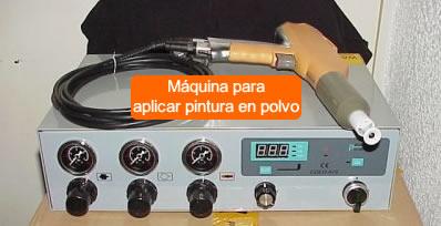 Equipos para aplicar pintura en polvo en guatemala - Venta de cabinas de pintura ...